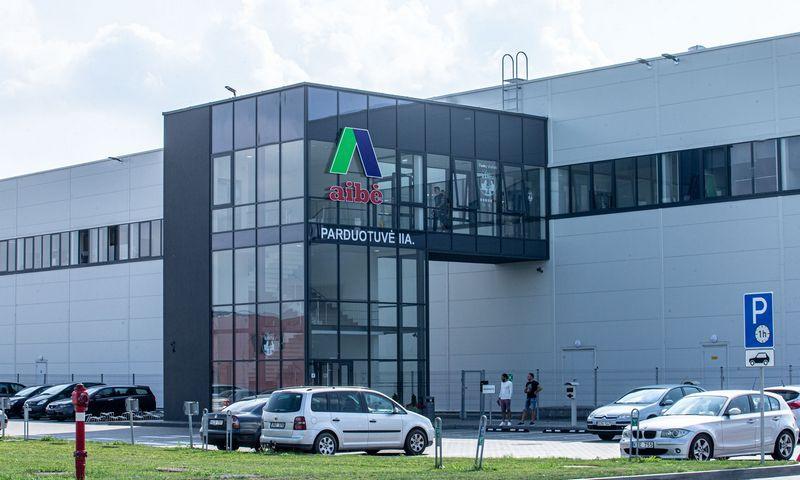 """""""Aibės logistikos"""" centrinis sandėlis Kauno LEZ. Juditos Grigelytės (VŽ) nuotr."""