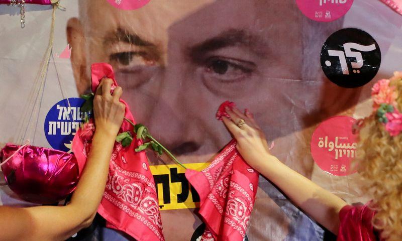 "Benjaminas Netanyahu, Izraelio premjeras. Ammaro Awado (""Reuters"" / ""Scanpix"") nuotr."