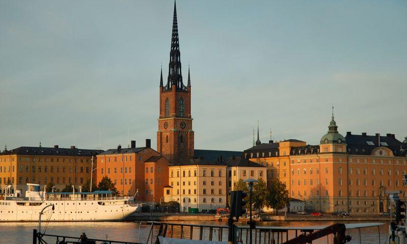 Švedija, sostinė Stokholmas. Aušros Barysienės nuotr.
