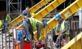 Statistikos departamentas: statybos darbų balandį atlikta 7% daugiau