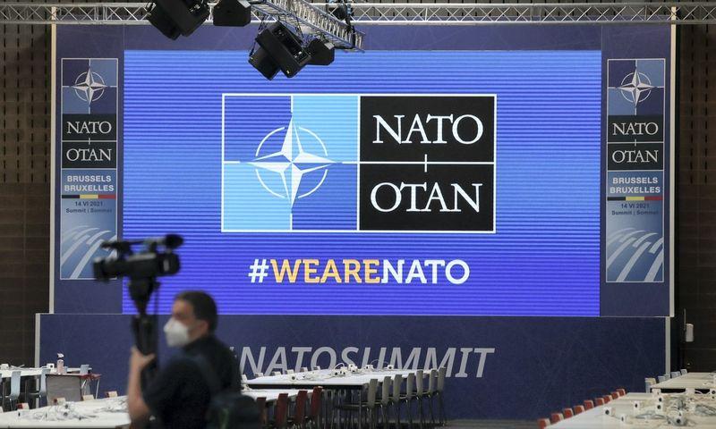Baltijos šalių vadovų pokalbis su JAV prezidentu, planuojama, vyks NATO viršūnių susitikimo kuluaruose. Yves Herman (Reuters/Scanpix) nuotr.