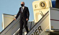 J. Bidenas dalyvaus Briuselyje vyksiančiuose NATO ir ES viršūnių susitikimuose