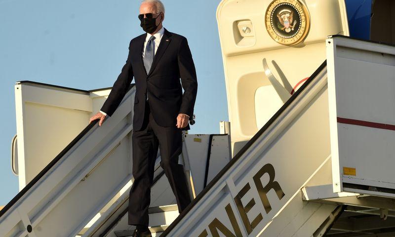 "Joe Bidenas, JAV prezidentas. Didierio Lebruno (""AP"" / ""Scanpix"") nuotr."