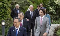 G7 lyderiai paragino Baltarusijos valdžią surengti naujus rinkimus, perspėjo dėl sankcijų