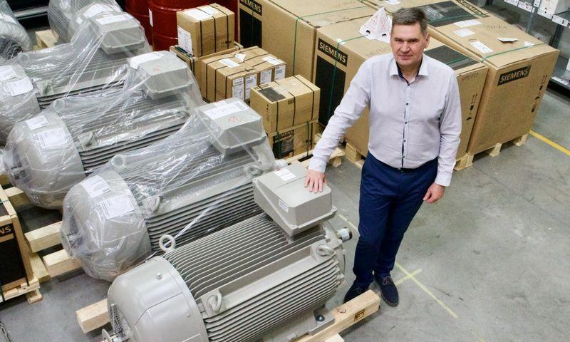 """Eimantas Daunoras, įmonės """"Pakmarkas"""" Pavarų ir automatizavimo skyriaus vadovas."""