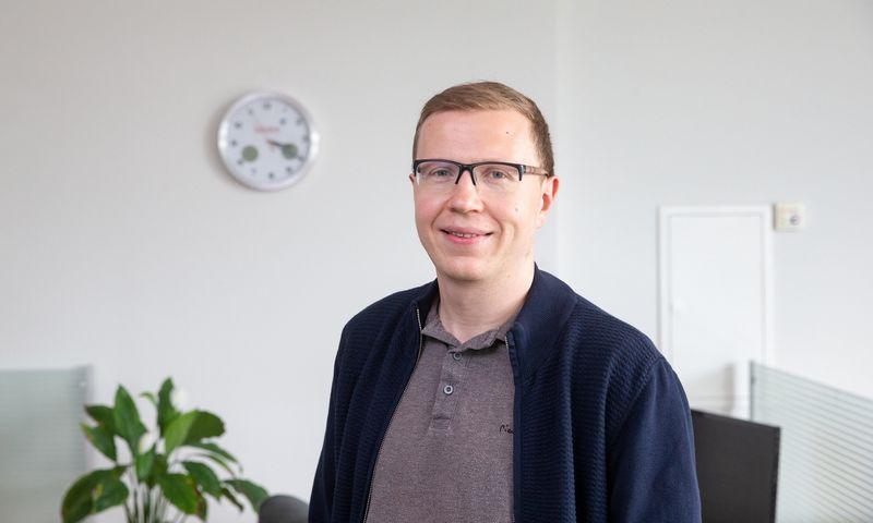 """Vitalijus Majorovas, """"Kilo Health"""" miego centro vadovas, sertifikuotas miego konsultantas. Juditos Grigelytės (VŽ) nuotr."""