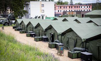 Minske gali būti apie 1.500 neteisėtai į ES norinčių patekti migrantų