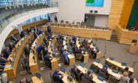 Seimas priminė būtinybę reikalauti okupacijos žalos atlyginimo iš Rusijos