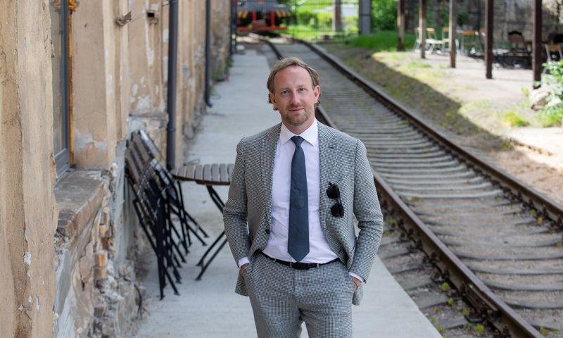 """Karolis Sankauskas, """"Projektavimo sprendimai"""" direktorius. Juditos Grigelytės (VŽ) nuotr."""