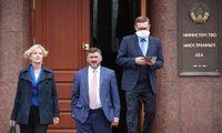 Pasibaigus kadencijai iš pareigų atšaukiamas ambasadorius Baltarusijoje