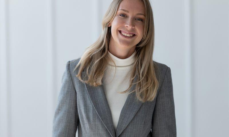 """""""Mantinga"""" komunikacijos vadovės pareigas pradėjo eiti Kristina Rancaitė, pastaruoju metu dirbusi prekybos tinklo """"Maxima"""" komunikacijos skyriuje. Bendrovės nuotr."""
