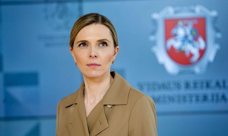 Agnė Bilotaitė, Lietuvos Respublikos vidaus reikalų ministrė. Vladimiro Ivanovo (VŽ) nuotr.
