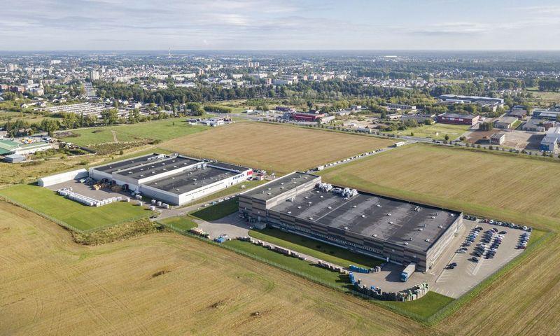 Įsigytos gamyklos Panevėžyje. Bendrovės nuotr.