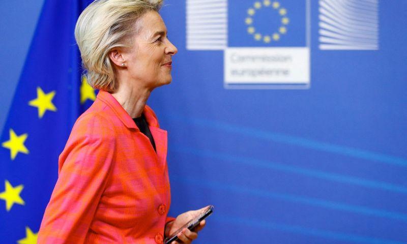 """Ursula von der Leyen, Europos Komisijos prezidentė.  Johanna Geron (""""AFP""""/""""Scanpix"""") nuotr."""
