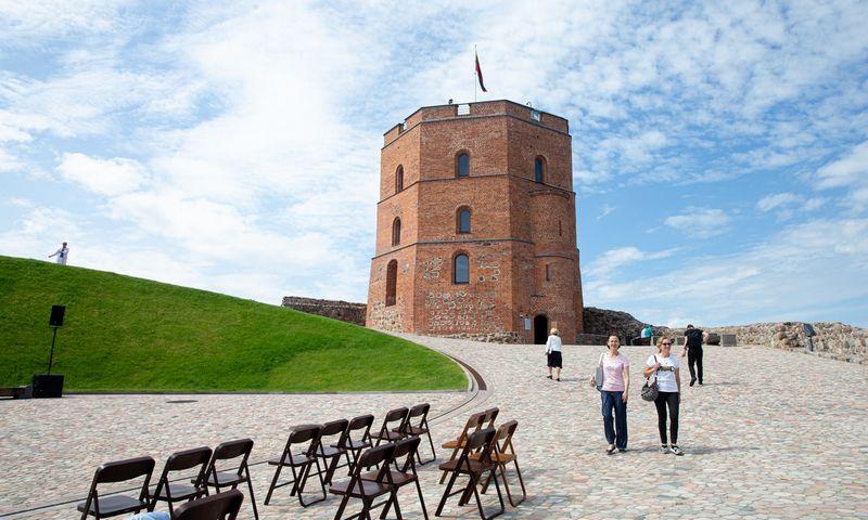 Gedimino pilies bokštas Vilniuje. Juditos Grigelytės (VŽ) nuotr.