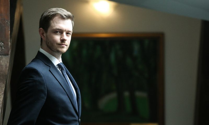 Jokūbas Markevičius, Lietuvos banko Finansinio stabilumo departamento direktorius. Vladimiro Ivanovo (VŽ) nuotr.