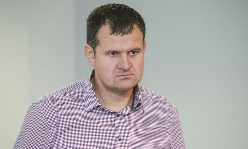 Alfredas Skinulis, Aplinkos apsaugos instituto direktorius. Vladimiro Ivanovo (VŽ) nuotr.
