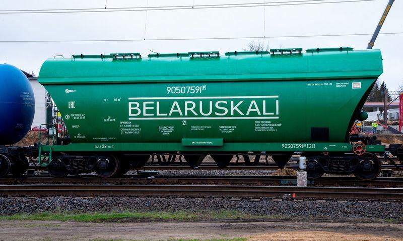 """""""Belaruskalij"""" vagonai. Vladimiro Ivanovo (VŽ) nuotr."""