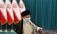 Irano dvasinis vadovas balsavo, duodamas pradžią prezidento rinkimams