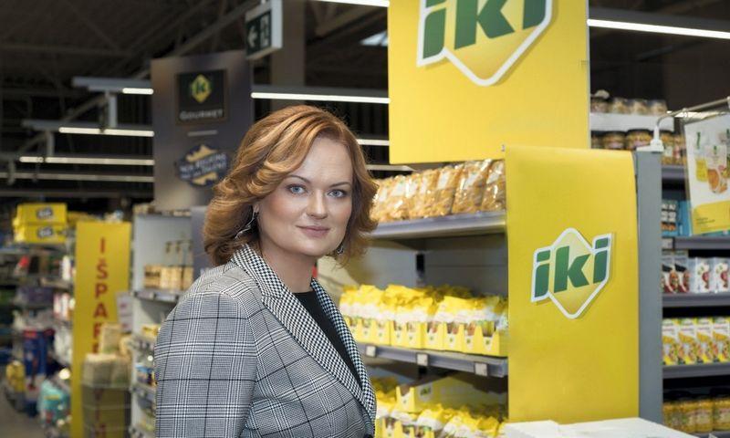 """""""Iki"""" prekybos tinklo vykdomoji direktorė Lina Muižienė."""