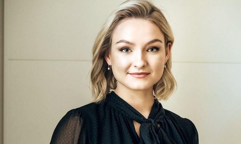 """Violeta Jakutė, """"Emplonet"""" Vilniaus padalinio vadovė."""