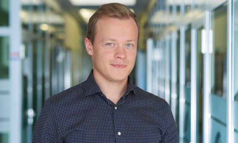 """""""Blue Bridge"""" sistemų inžinierius, saugumo operacijų centro analitikas Patryk Gulbinovič."""