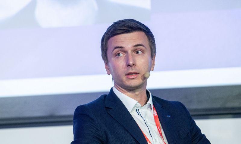 """Žymantas Baušys, UAB """"ACC Distribution"""" generalinis direktoriaus. Juditos Grigelytės (VŽ) nuotr."""