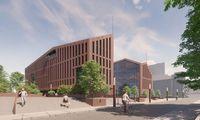 """Pirmasis ambicingo """"Memelio miesto"""" kvartalo Klaipėdoje žingsnis – biurai"""