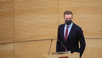 G. Landsbergis: sankcijos Baltarusijos trąšų sektoriui bus įvedamos palaipsniui