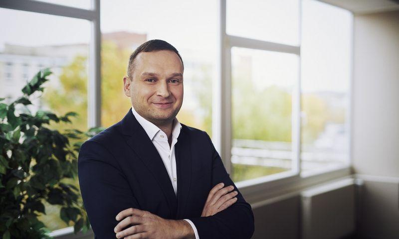 """""""Kauno baldų""""  akcininkų gretas papildė įmonės vadovas Tomas Mauricas. Bendrovės nuotr."""