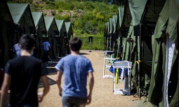 VSAT planuoja nuomoti modulinius namelius migrantų apgyvendinimui