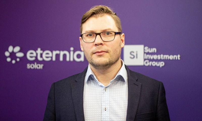 """Andrius Džiaugys, """"Eternia Solar LT"""" direktorius."""