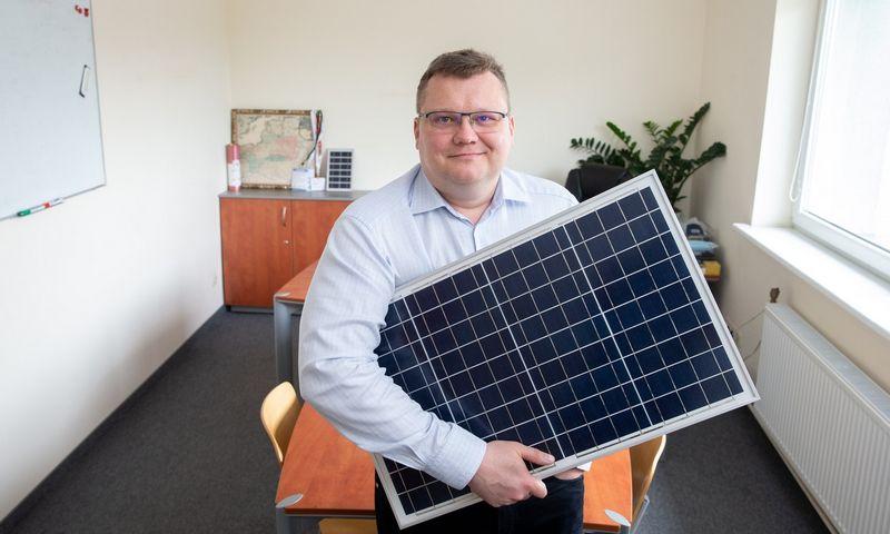 """Andrius Karazinas, UAB """"Solet Technics"""" generalinis direktorius. Juditos Grigelytės (VŽ) nuotr."""