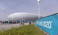 EK ir UEFA susikirto dėl Miuncheno vaivorykštės