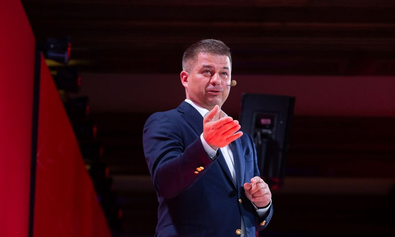 """Gediminas Žiemelis, """"Avia Solutions Group"""" valdybos pirmininkas. Juditos Grigelytės (VŽ) nuotr."""