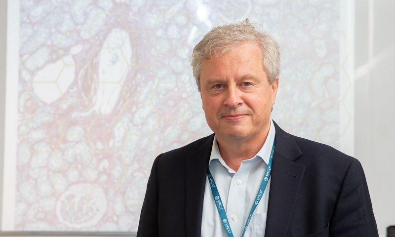 Arvydas Laurinavičius, Valstybinio patologijos centro direktorius. Juditos Grigelytės (VŽ) nuotr.