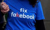 """Melagienos """"Facebook"""" kiršinagrožio industriją"""