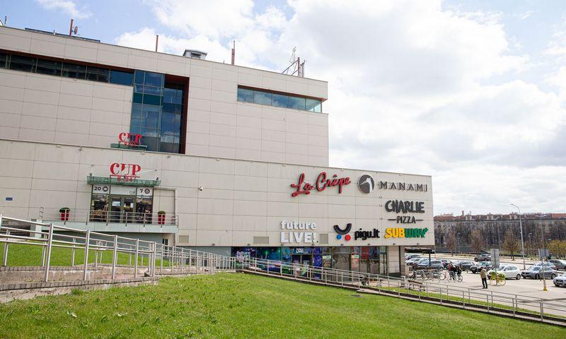 CUP prekybos centras Vilniuje. Juditos Grigelytės (VŽ) nuotr.