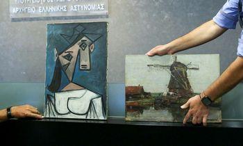 Graikija atgavo 2012-aisiais pavogtą P. Picasso paveikslą