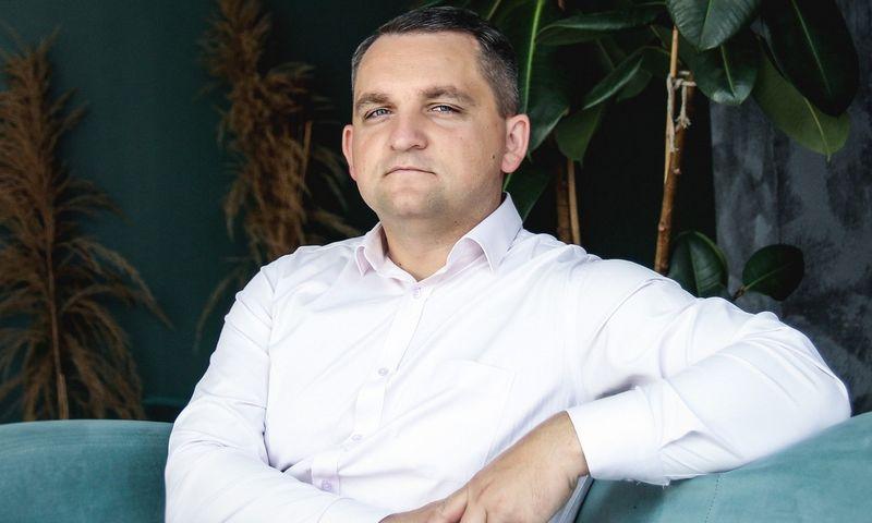 """Viktoras Pivorius, """"Klaipėdos baldai"""" vadovas. Bendrovės nuotr."""