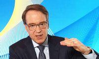 """Vokietijoscentrinio bankovadovas ragina ECB nepersistengti skatinant ekonomiką: """"Infliacija nemirė"""""""