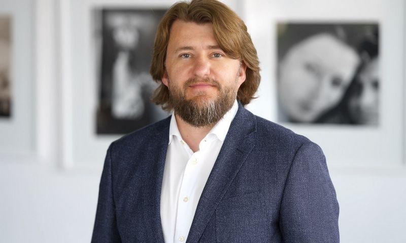 """Justinas Klimašauskas, """"Lewben"""" įmonių valdymo ir administravimo paslaugų direktorius."""