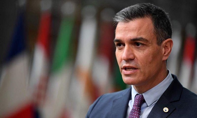 """Pedro Sanchezas, Ispanijos premjeras. Johno Thyso (""""AFP"""" / """"Scanpix"""") nuotr."""