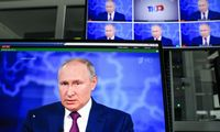 Rusijos prezidentas pareiškė, kad Ukrainą valdo Vakarai, kaltino provokacijomis