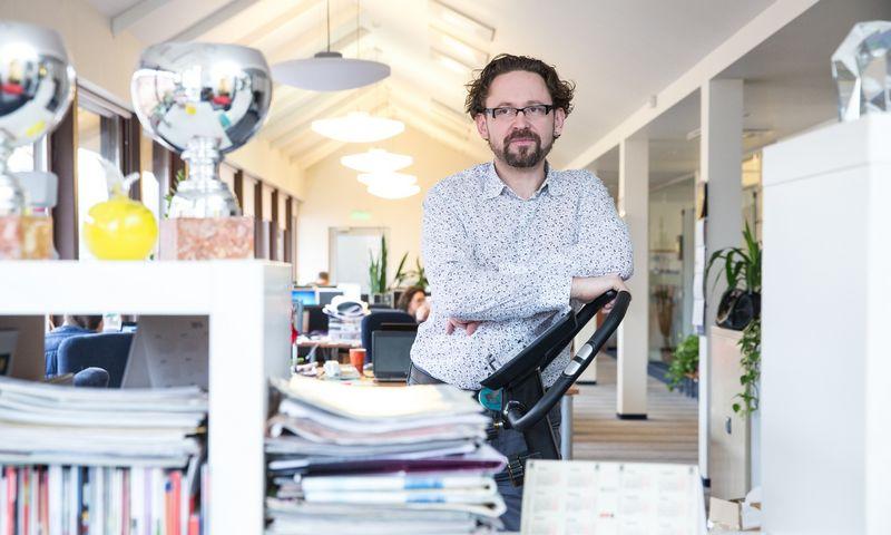 """""""Brandity"""" kūrybos vadovas bus Marius Zaveckas, ilgametis """"VRS WPI Vilnius"""" darbuotojas. Juditos Grigelytės (VŽ) nuotr."""
