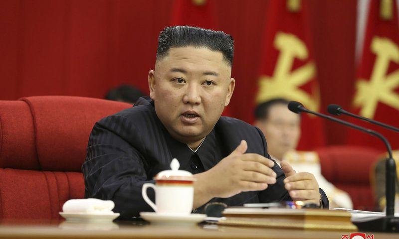 """Korėjos naujienų tarnybos / AP / """"Scanpix"""" nuotr."""