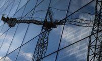 Statybos Latvijoje per metus pabrango beveik 5%