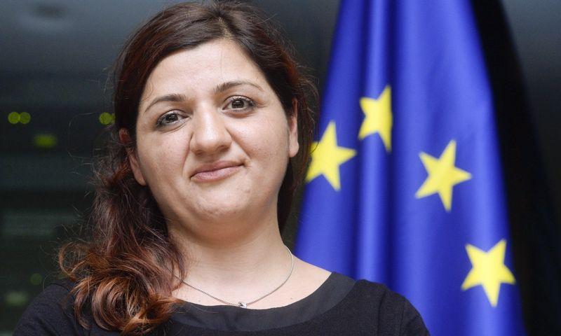 Europarlamentarė Ozlem Demirel.