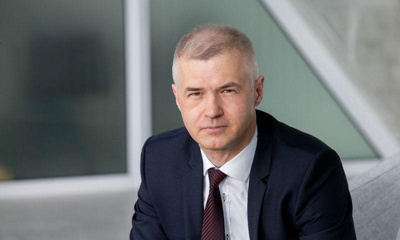 """Lionginas Šepetys, """"SBA Urban"""" valdybos pirmininkas. Juditos Grigelytės (VŽ) nuotr."""