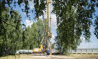 """Rygos oro uoste pradėtos """"Rail Balticos"""" stoties statybos"""